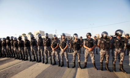 Jordanian-riot-police